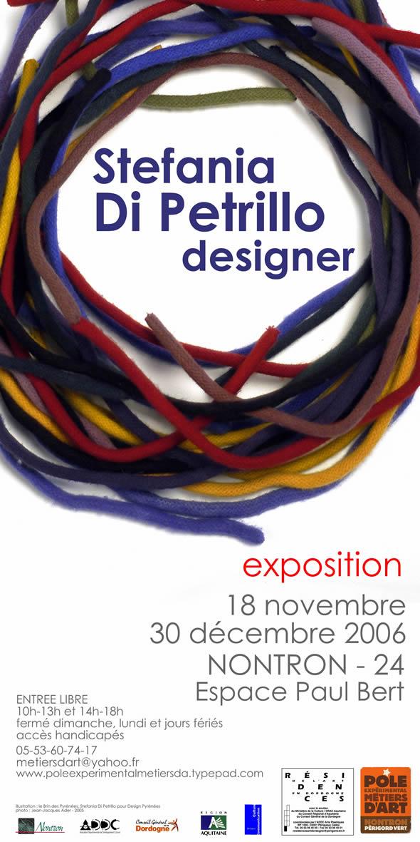 Stefania Di Petrillo, designer – Exposition de début de résidence