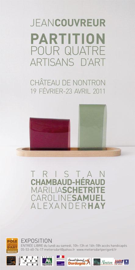 Jean Couvreur, Partition pour quatre artisans d'art