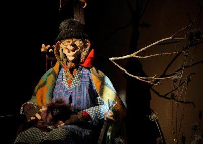 Corine SIOT, Les trois ratons laveurs, Fabricant de marionnettes